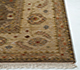 Jaipur Rugs - Hand Knotted Wool Beige and Brown SPR-45 Area Rug Cornershot - RUG1025039