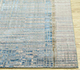 Jaipur Rugs - Hand Knotted Wool and Bamboo Silk Blue SRB-701 Area Rug Cornershot - RUG1087820