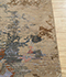 Jaipur Rugs - Hand Knotted Wool and Bamboo Silk Beige and Brown SRB-702 Area Rug Cornershot - RUG1080170