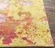 Jaipur Rugs - Hand Knotted Wool and Bamboo Silk Gold SRB-702 Area Rug Cornershot - RUG1087801