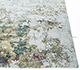 Jaipur Rugs - Hand Knotted Wool and Bamboo Silk Blue SRB-702 Area Rug Cornershot - RUG1090148