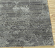 Jaipur Rugs - Hand Knotted Wool and Bamboo Silk Grey and Black SRB-702 Area Rug Cornershot - RUG1094519