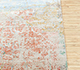 Jaipur Rugs - Hand Knotted Wool and Bamboo Silk Blue SRB-707 Area Rug Cornershot - RUG1080819