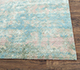Jaipur Rugs - Hand Knotted Wool and Bamboo Silk Blue SRB-710 Area Rug Cornershot - RUG1087814