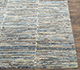 Jaipur Rugs - Hand Knotted Wool and Bamboo Silk Grey and Black SRB-712 Area Rug Cornershot - RUG1074149