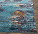 Jaipur Rugs - Hand Knotted Wool and Bamboo Silk Blue SRB-714 Area Rug Cornershot - RUG1077867