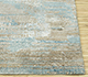 Jaipur Rugs - Hand Knotted Wool and Bamboo Silk Blue SRB-714 Area Rug Cornershot - RUG1084456