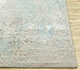 Jaipur Rugs - Hand Knotted Wool and Bamboo Silk Blue SRB-728 Area Rug Cornershot - RUG1087818