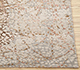 Jaipur Rugs - Hand Knotted Wool and Bamboo Silk Ivory SRB-729 Area Rug Cornershot - RUG1080205