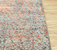 Jaipur Rugs - Hand Knotted Wool and Bamboo Silk Grey and Black SRB-729 Area Rug Cornershot - RUG1080208