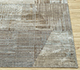 Jaipur Rugs - Hand Knotted Wool and Bamboo Silk Grey and Black SRB-730 Area Rug Cornershot - RUG1083773