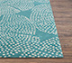 Jaipur Rugs - Hand Tufted Wool Blue TAC-4551 Area Rug Cornershot - RUG1088488