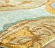Jaipur Rugs - Hand Tufted Wool and Viscose Blue TAQ-113 Area Rug Cornershot - RUG1047316