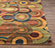 Jaipur Rugs - Hand Tufted Wool and Viscose Beige and Brown TAQ-130 Area Rug Cornershot - RUG1030860