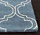 Jaipur Rugs - Hand Tufted Wool and Viscose Blue TAQ-230 Area Rug Cornershot - RUG1031194