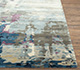 Jaipur Rugs - Hand Tufted Wool and Viscose Grey and Black TAQ-4306 Area Rug Cornershot - RUG1084872