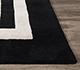 Jaipur Rugs - Hand Tufted Wool and Viscose Grey and Black TAQ-6054 Area Rug Cornershot - RUG1060536