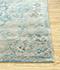 Jaipur Rugs - Hand Tufted Wool and Viscose Blue TAQ-609 Area Rug Cornershot - RUG1084579