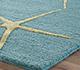 Jaipur Rugs - Hand Tufted Wool and Viscose Blue TAQ-829 Area Rug Cornershot - RUG1059934