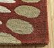 Jaipur Rugs - Hand Tufted Wool Red and Orange TRA-312 Area Rug Cornershot - RUG1099323