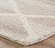 Jaipur Rugs - Hand Tufted Wool and Viscose Beige and Brown TRA-350 Area Rug Cornershot - RUG1077048