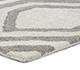 Jaipur Rugs - Hand Tufted Wool Grey and Black TRA-362 Area Rug Cornershot - RUG1077059