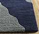 Jaipur Rugs - Hand Tufted Wool and Viscose Blue TRA-523 Area Rug Cornershot - RUG1095534