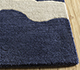Jaipur Rugs - Hand Tufted Wool Blue TRA-524 Area Rug Cornershot - RUG1095537