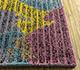 Jaipur Rugs - Hand Tufted Wool and Viscose Blue TRA-666 Area Rug Cornershot - RUG1095665