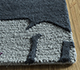 Jaipur Rugs - Hand Tufted Wool Blue TRA-689 Area Rug Cornershot - RUG1095710