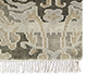 Jaipur Rugs - Hand Knotted Wool Grey and Black TX-422 Area Rug Cornershot - RUG1005281