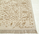 Jaipur Rugs - Hand Knotted Wool and Silk Ivory TX-503 Area Rug Cornershot - RUG1058887