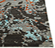Jaipur Rugs - Hand Knotted Wool and Bamboo Silk Grey and Black TX-506 Area Rug Cornershot - RUG1054971