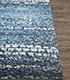 Jaipur Rugs - Hand Knotted Wool and Viscose Blue USL-153 Area Rug Cornershot - RUG1074603