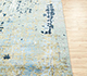 Jaipur Rugs - Hand Knotted Wool and Bamboo Silk Blue USL-168 Area Rug Cornershot - RUG1086243