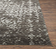 Jaipur Rugs - Hand Knotted Wool and Viscose Grey and Black YRH-703 Area Rug Cornershot - RUG1066106