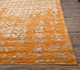 Jaipur Rugs - Hand Knotted Wool and Viscose Beige and Brown YRH-703 Area Rug Cornershot - RUG1066019