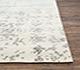 Jaipur Rugs - Hand Knotted Wool and Viscose Ivory YRH-703 Area Rug Cornershot - RUG1067972