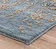 Jaipur Rugs - Hand Knotted Wool Blue YRS-703 Area Rug Cornershot - RUG1056388