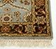 Jaipur Rugs - Hand Knotted Wool Beige and Brown BT-101 Area Rug Cornershot - RUG1042944
