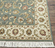 Jaipur Rugs - Hand Knotted Wool Green BT-107 Area Rug Cornershot - RUG1050575