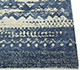 Jaipur Rugs - Hand Knotted Wool and Bamboo Silk Blue ESK-663 Area Rug Cornershot - RUG1069044