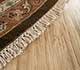 Jaipur Rugs - Hand Knotted Wool Beige and Brown JC-132 Area Rug Cornershot - RUG1042728