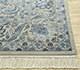 Jaipur Rugs - Hand Knotted Wool and Silk Blue QNQ-10(CM-01) Area Rug Cornershot - RUG1068505