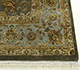 Jaipur Rugs - Hand Knotted Wool and Silk Green QNQ-44 Area Rug Cornershot - RUG1050269