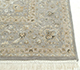 Jaipur Rugs - Hand Knotted Wool and Silk Grey and Black QNQ-50 Area Rug Cornershot - RUG1058380