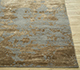 Jaipur Rugs - Hand Knotted Wool and Bamboo Silk Grey and Black ESK-431 Area Rug Cornershot - RUG1065304