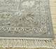 Jaipur Rugs - Hand Knotted Wool and Silk Grey and Black NRA-16 Area Rug Cornershot - RUG1056999