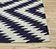 Jaipur Rugs - Flat Weave Wool Blue PX-1578 Area Rug Cornershot - RUG1011767