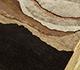 Jaipur Rugs - Hand Tufted Wool and Viscose Red and Orange TRA-520 Area Rug Floorshot - RUG1095662